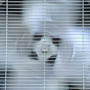 Old air conditioner compressor